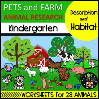 Pets and Farm Animal Research Description and Habitat Kind