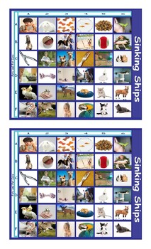 Pets and Pet Care Battleship Board Game