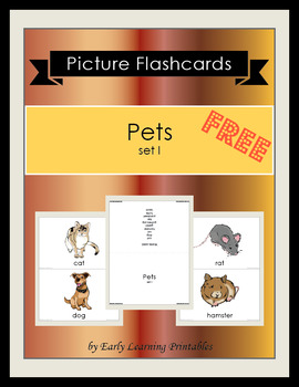 Pets (set I) Picture Flashcards