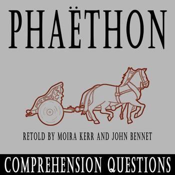 """""""Phaethon"""" retold by Moira Kerr and John Bennett - 10 Comp"""