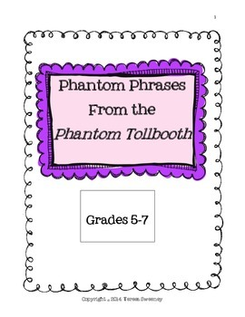 Phantom Phrases : Figurative Language in the Phantom Tollbooth