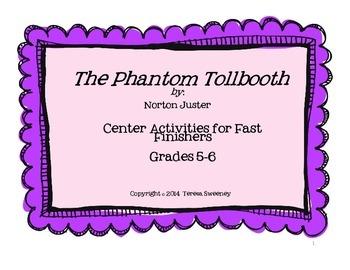 Phantom Tollbooth Center Activities