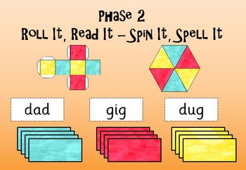 Phase 2 - Reading/Spelling Game