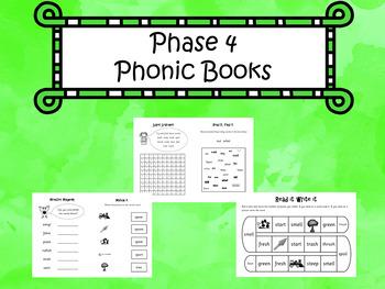 Phase 4 - Phonic Books