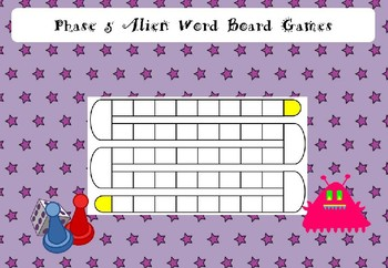 Phase 5 - Alien Word Board Games