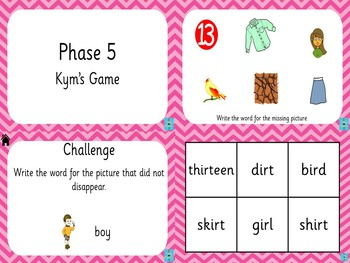 Phase 5 - Kym's Game
