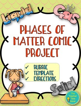 Phases of Matter Comic Project- Matter and Chemistry