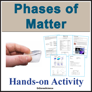Phases of Matter Lesson and Inquiry Experiment