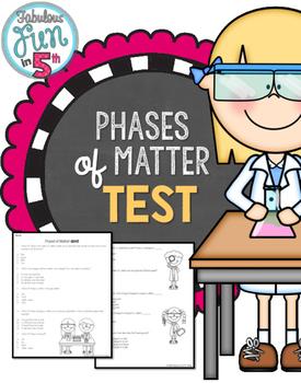 Phases of Matter Test