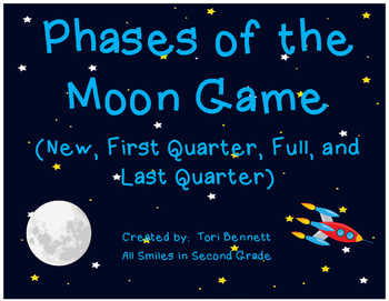 Phases of the Moon Game