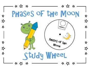 Phases of the Moon Study Wheel