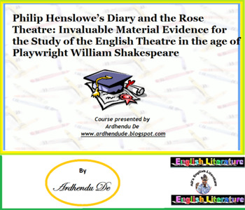 Philip Henslowe's Diary and the Rose Theatre