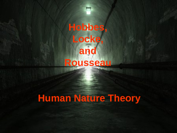 Philosophies of Human Nature