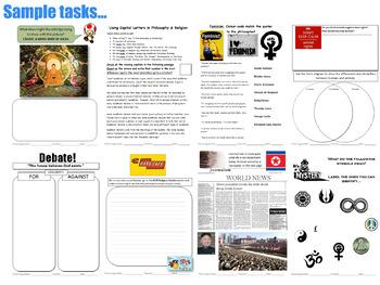 Philosophy & Religion WorkBook (P4C) [Debates, Discussions