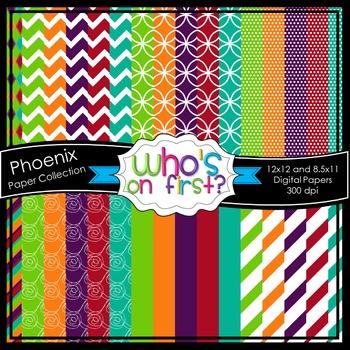 Phoenix Digital Paper Set