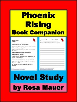Phoenix Rising by Karen Hesse Book Unit