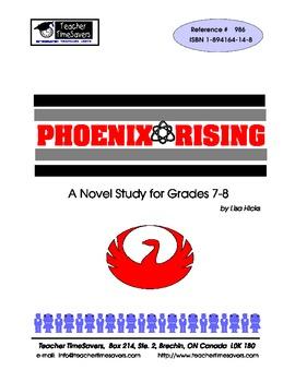 Phoenix Rising by Karen Hesse: Novel study for Grades 6-9