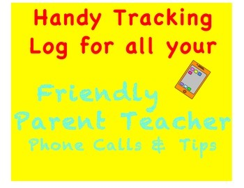 Phone Log Template and Speaking Tips