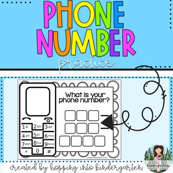 Phone Number Practice