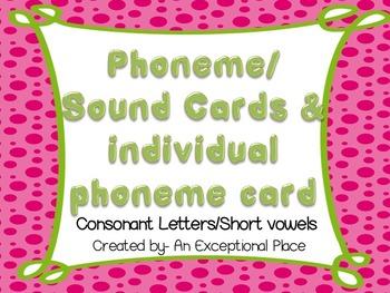 Phoneme Cards