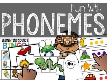Phoneme Fun Bundle (Segmenting, Blending, & Manipulating P