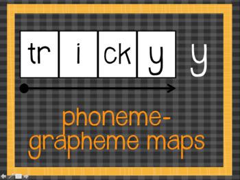 Phoneme Grapheme Map: tricky y words