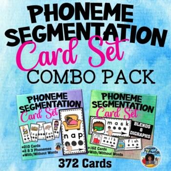 Phoneme Segmentation Cards Combo Set