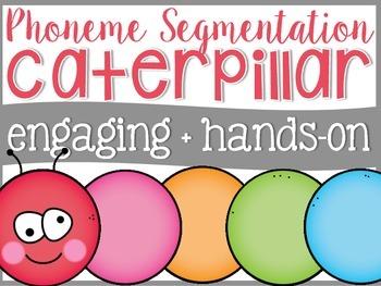 Phoneme Segmentation Caterpillar {CVC Words}
