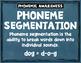 Phoneme Segmentation Clip It Cards