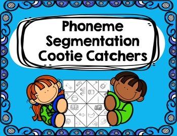 Phoneme Segmentation Cootie Catchers