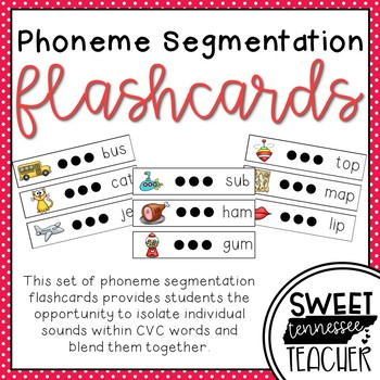 Phoneme Segmentation Flashcards