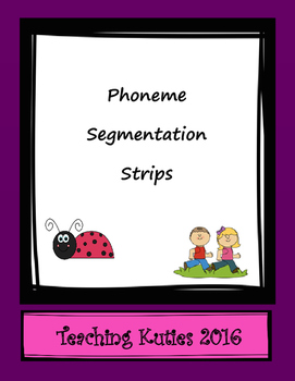 Phoneme Segmentation Strips