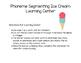 Phoneme Segmenting Ice Cream