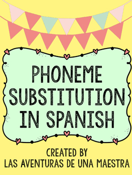 Phoneme Substitution In Spanish