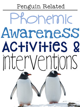 January Phonemic Awareness Activities & Interventions
