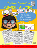 Phonemic Awareness-Change A Word for Initial, Medial and F