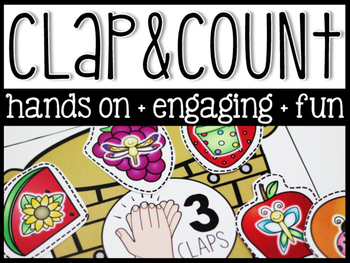 Phonemic Awareness Clap & Count