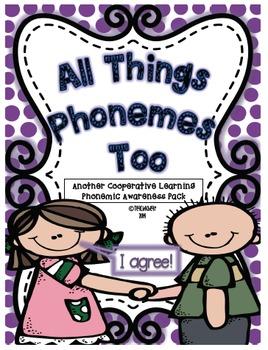 Phonemic Awareness Cooperative Learning Pack 2