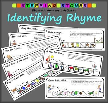 Phonemic Awareness – Identifying Rhyme: Stepping Stones Ac