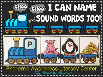 Phonemic Awareness Literacy Centre- BUILD AN ALPHABET TRAIN
