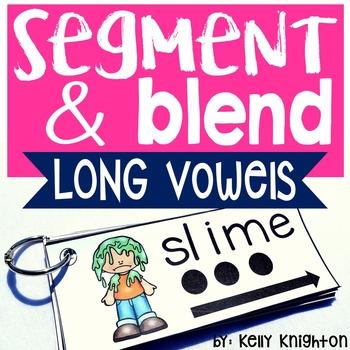 Phonemic Awareness Segmenting and Blending Long Vowels and