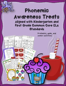 Phonemic Awareness Treats For Kindergarten and First Grade
