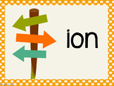 Phonetic Pattern: ion words
