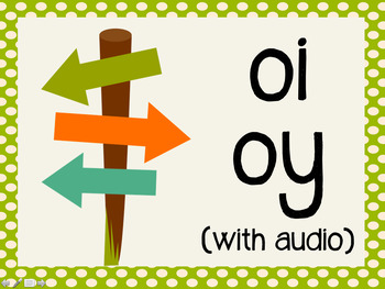 Phonetic Pattern: oi, oy words (with audio)