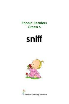 (15) Phonic Reader Books: Green 1-10