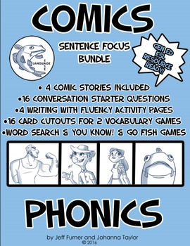 Phonic Reading and Writing Bundle with GAMES!