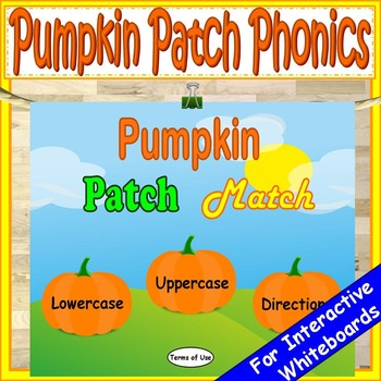 Phonics Pumpkins Kindergarten First Grade