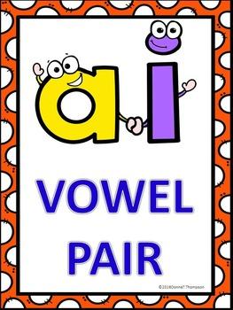 Phonics Worksheets: Vowel Pair AI (No Prep Worksheets)