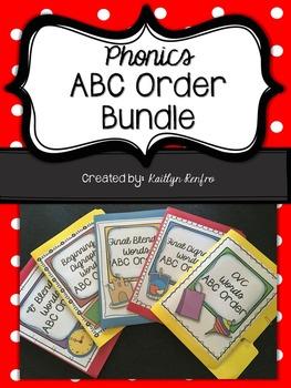 Phonics ABC Order - Bundle