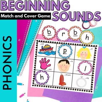 Phonics Beginning Sound ABC Game: Common Core  K